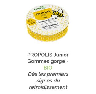 Herbalgem - PROPOLIS Junior Gommes gorge - BIO - 30 ml