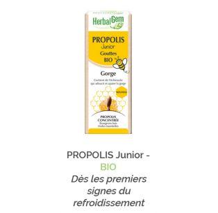 Herbalgem - PROPOLIS Junior - BIO - 30 ml