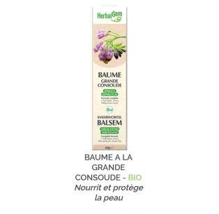 Herbalgem -  BAUME A LA GRANDE CONSOUDE - BIO - 30 ml