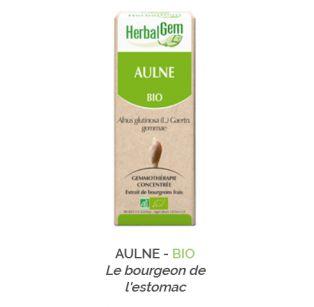 Herbalgem -  AULNE - BIO Gemmothérapie concentré - 30 ml