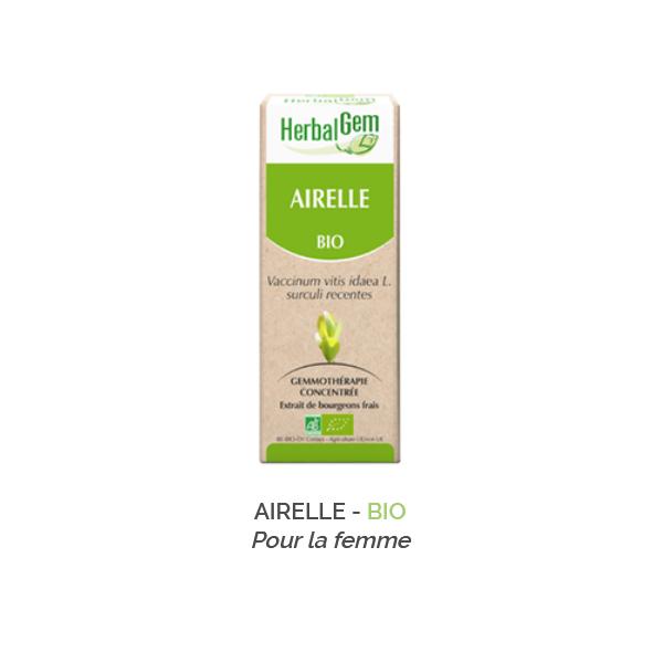 Herbalgem -  AIRELLE - BIO Gemmothérapie concentré - 30 ml