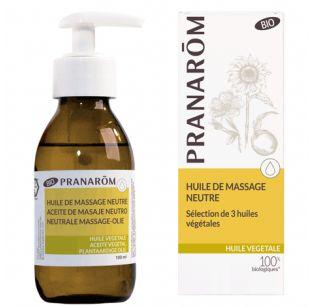 Pranarôm - Huile de massage neutre BIO (Eco) - 100 ml
