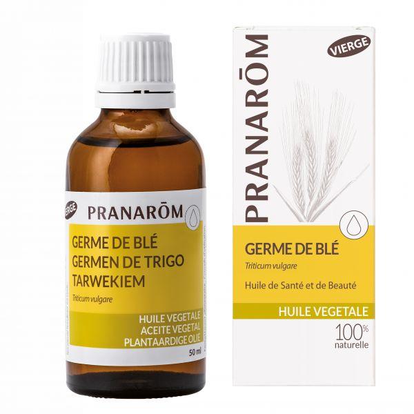 Pranarôm - Huile Végétale Vierge Germe de blé - Triticum vulgare - 50 ml