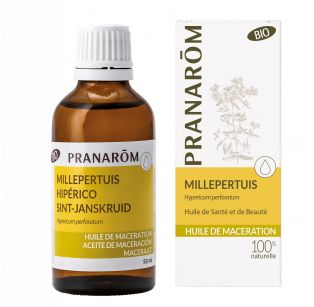 Pranarôm - Huile de macération Bio - Millepertuis - Hypericum perf. - 50 ml
