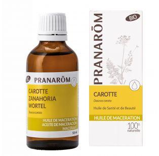 Pranarôm - Huile de macération Bio - Carotte - Daucus carota - 50 ml