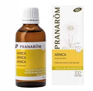 Pranarôm - Huile de macération Bio - Arnica - Arnica montana - 50 ml