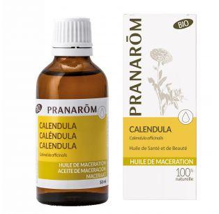 Pranarôm - Huile de macération Bio - Calendula - Calendula officinalis - 50 ml