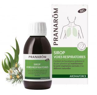 Pranarôm - Aromaforce Respiration aisée - Sirop + Propolis - Flacon de 150 ml