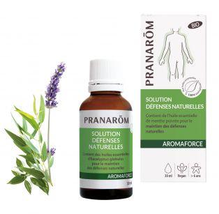 Pranarôm - Aromaforce Résistance et défenses naturelles Lotion Friction - 30 ml
