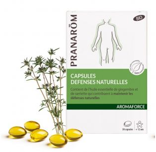 Pranarôm - Aromaforce Capsules Défenses Naturelles Bio - 30 capsules