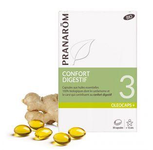 Pranarôm - Oléocaps 3 Digestion & Transit intestinal - 30 Capsules