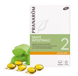 Pranarôm - Oléocaps 2 Sphère Gastro-Intestinale et Voies Urinaires - 30 Caps