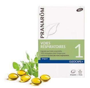 Pranarôm - Oléocaps 1 Nez Gorge Oreille - 30 Capsules