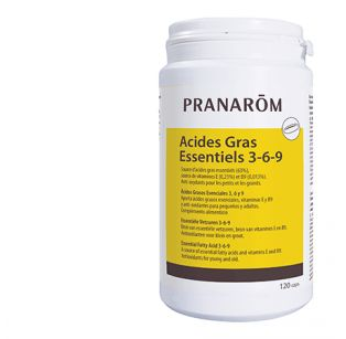 Pranarôm - Pranacaps Acides gras essentiels 3-6-9 - 120 Capsules