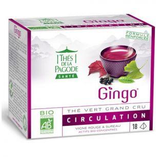 Thé de la Pagode - Gingo - 18 infusettes