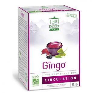 Thé de la Pagode - Gingo - 60 infusettes