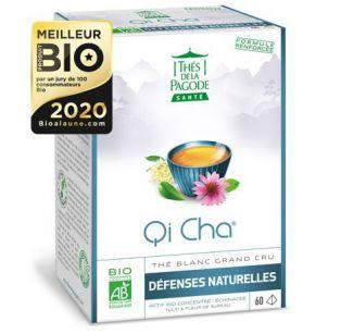Thé de la Pagode - Thé blanc Qi Cha - 60 infusettes