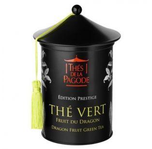 Thé de la Pagode - Thé Vert Fruit du Dragon Edition Prestige - Boite en métal Prestige 100 gr