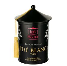 Thé de la Pagode - Thé Blanc Yuzu Edition Prestige - Boite en métal Prestige 100 gr
