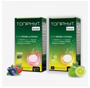 Santé Verte - TONIPHYT® BOOST - Citron-Menthe - 30 comprimés