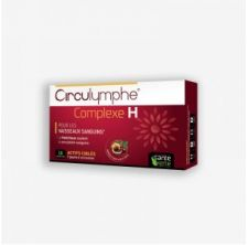 Santé Verte - Circulymphe COMPLEXE H comprimés - 16 cps