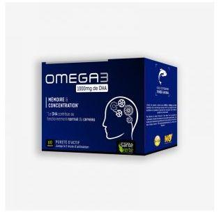Santé Verte - OMEGA 3 1000MG DE DHA - 60 capsules