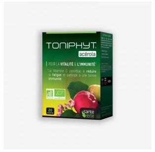 Santé Verte - TONIPHYT® ACÉROLA BIO - 20 cps