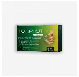 Santé Verte - TONIPHYT® MULTINATURE - 30 comprimés
